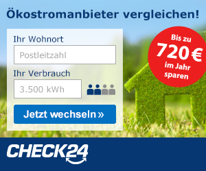 Oekostrom Check24