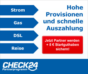 Check24 Partnerprogram