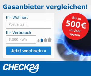 Gasanbieter Check 24